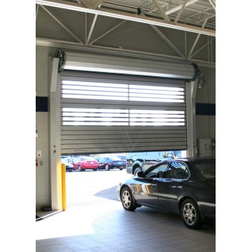 Automatic Stainless Steel Spiral High Speed Door