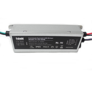 75W Justerbar vattentät Led Power Driver