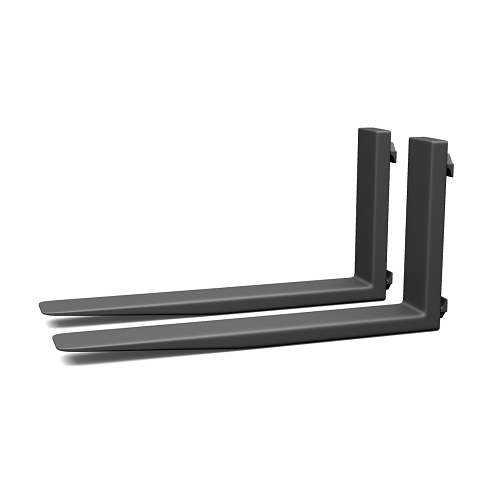 forklift extension forks with hook