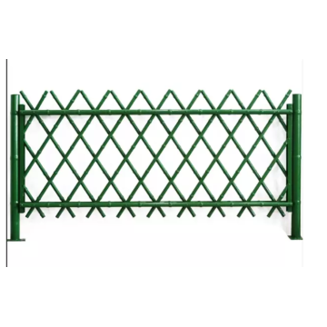 Carbonized Bamboo Chain Link Fence