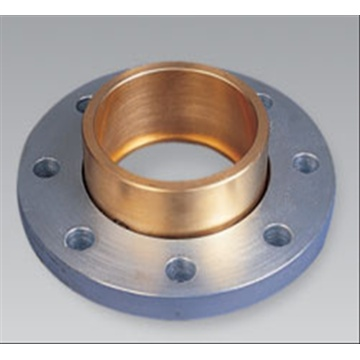 Copper flated steel flange