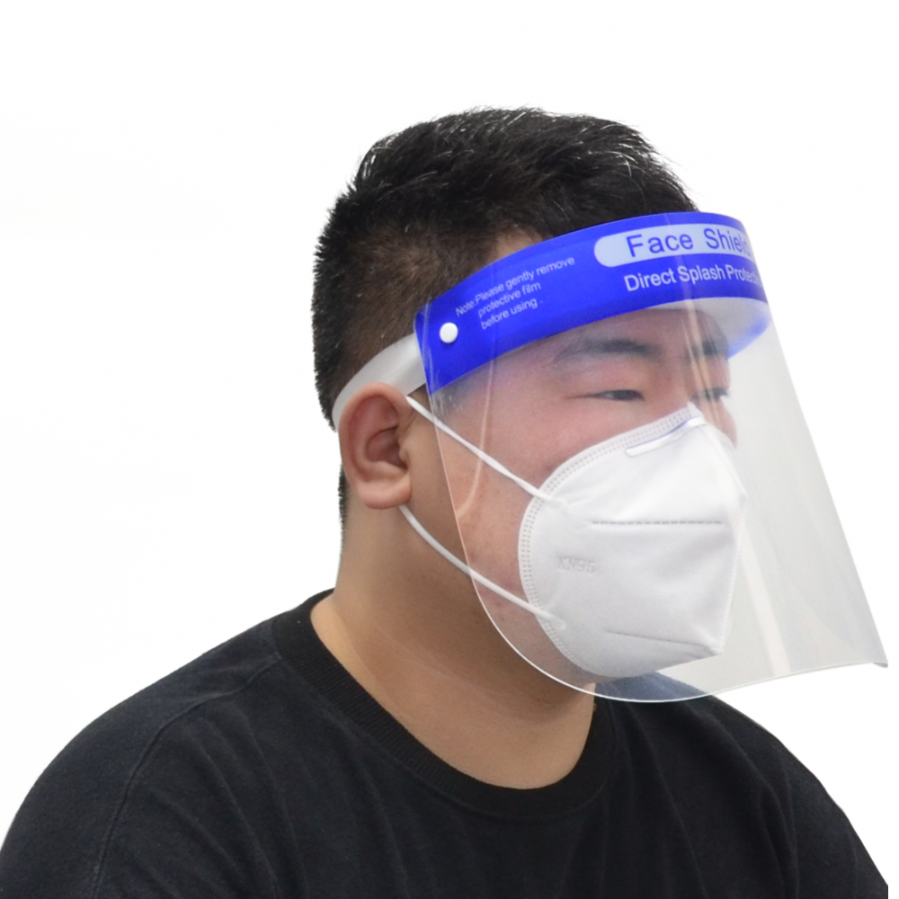 Plastic Face Shield Wearer