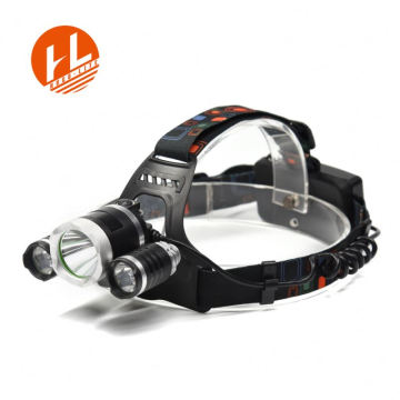 3w emergency led 18650 rechargeable headlamp