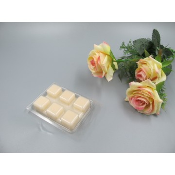 Scented Cream Colored  Wax Block