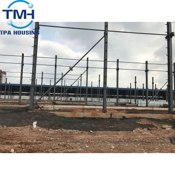 angola prefabricated steel structure warehouse furniture