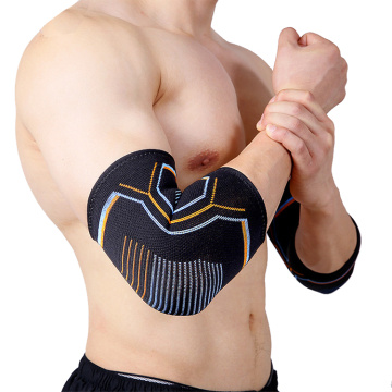 Basketball compression knitted elbow brace