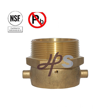 NSF Approved Low Lead Brass Fire Fitting for Fire Extinguisher System