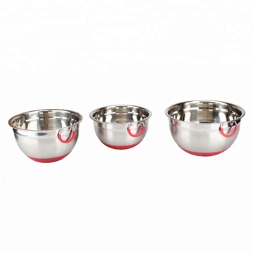 Hot Sell Mixing Bowl Set with Carry Handle