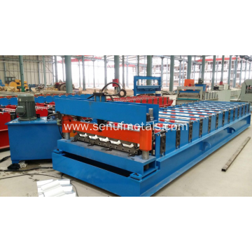 Roofing Sheet Making Machine Roll Forming Machine factory