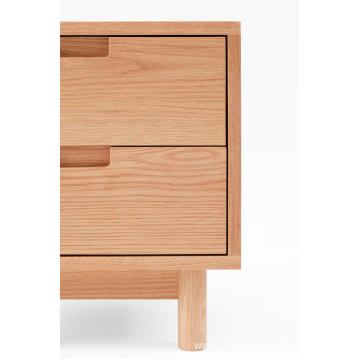Modern FAS OAK Wooden Nightstands