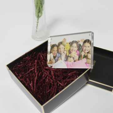 APEX High-quality Home Decoration Clear Crystal Photo Frame
