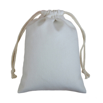 Cotton drawstring bag with custom logo printing