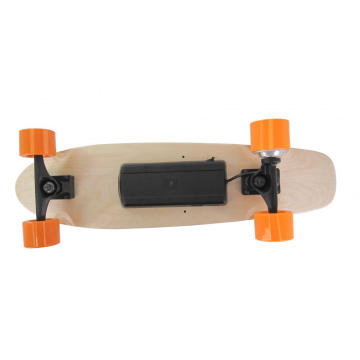 Orange Wheel Mini Fish Electric Skateboard