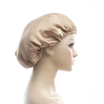 100% Mulberry Silk Night Sleep Cap Sleeping Hat