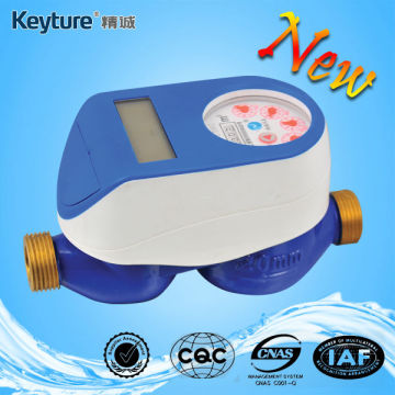 Smart Water Meter With Mechanical Sealed Valve Blue