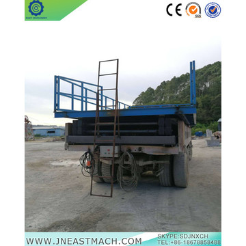 8.0t Basement Small Cargo Stationary Lift Table