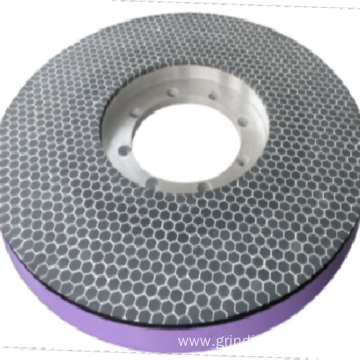 Vitrified CBN grinding wheel for speed steel parts