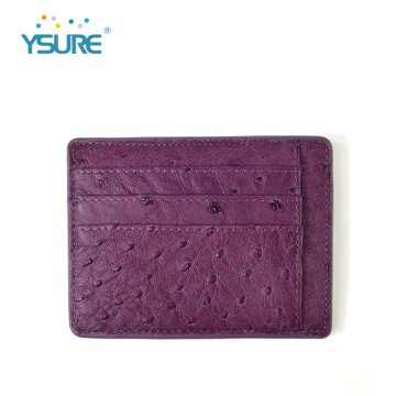 Custom Color Real Leather Credit Card Holder