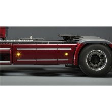 LED Side Skirt Light Body Clearance Lamp for 1/14 Tamiya Scania R470 R620 RC Truck Trailer Tractor Parts Accessories