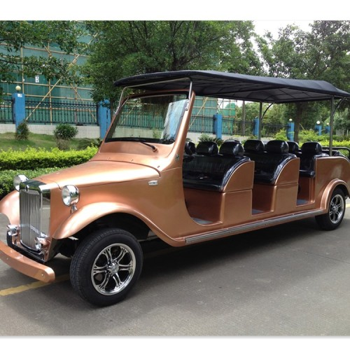 Antique 12 seats eco-friendly golf cart