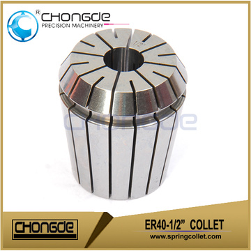"ER40-1/2"" Precision Collet Clamping Range 0.500"" - 0.460"""