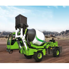 3.6 CBM self loading mobile concrete mixer truck