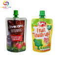 Aluminum Baby Food Packaging Pouch BPA Free