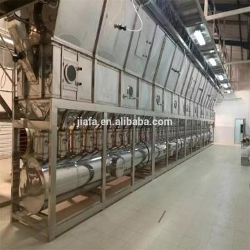 PVC Resin Dryer Horizontal Type Fluid Bed Drying Machine