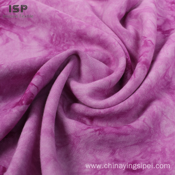 Woven 100% Viscose Tie Dyed Fabrics