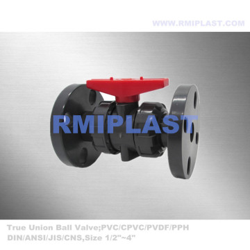 Double Union PVC Ball Valve JIS