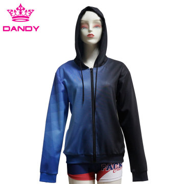 কাস্টম পশম sublimated hoodies