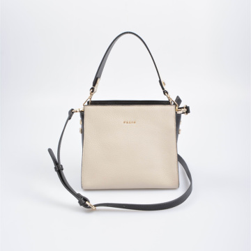 Chic square crossbody bag with handle