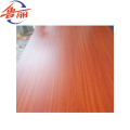 Competitive veneer faced MDF board