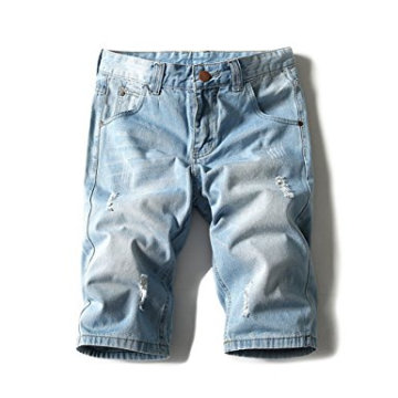 Men's Light Weight Jean Shorts Brush Denim Short