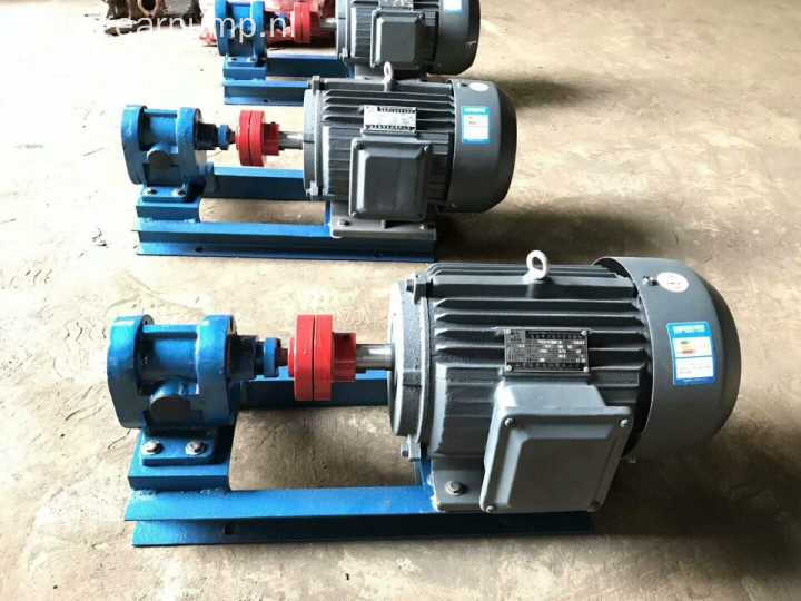 cheap portable oil transfer delivery booster gear pump