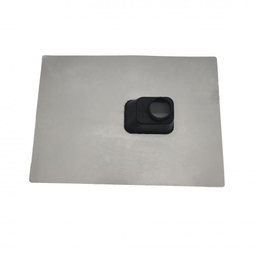 Custom molding metal roof flashing for weatherproof
