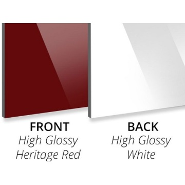 3MM Gloss Heritage/Gloss White Aluminium Composite Panel
