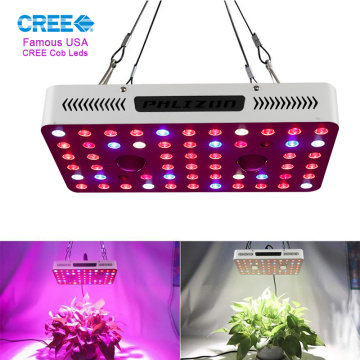 Dhiirrigelinta Phlizon 1000W COB LED Grow Light Light US