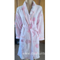 100%cotton printing bathrobe for girl