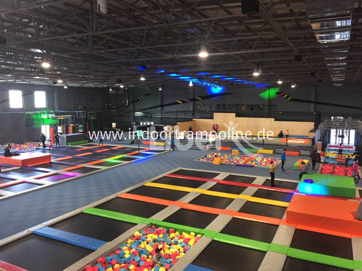 trampoline equipment indoor