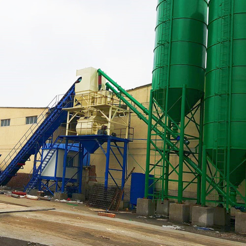 60m3 High quality fixed electrical concrete batching plant