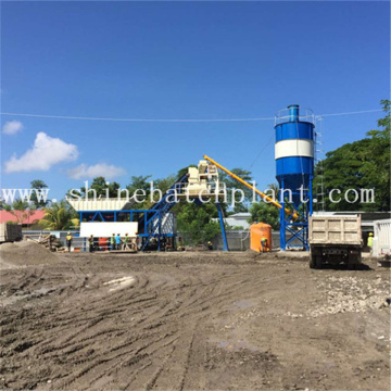 Mobile Wet Concrete Batching Plant