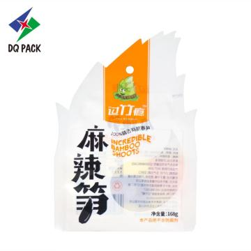 Temperature Heatable Packaging Bag For Hot Food