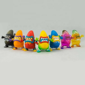 6pcs/set Wholesale Hot Sale  pvc-pop-action figure-cute