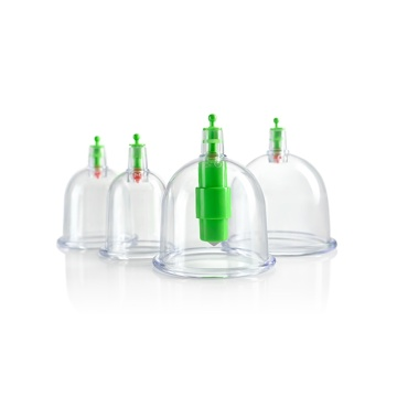 vacuum cupping kit therapy with 24pcs 12pcs 6pcs
