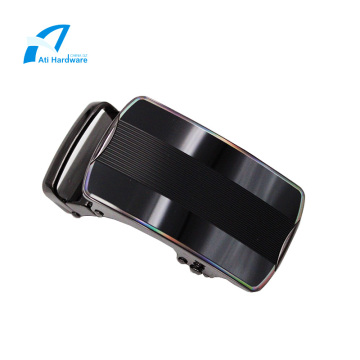 Leather Belt Commercial Automatic Custom Alloy Buckle