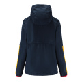 Mens Rugby Wear Zip Up Hoodies Navy