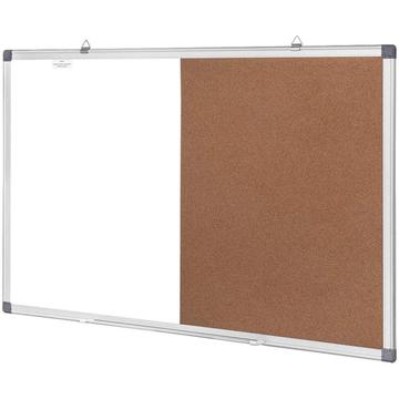 Combination Message Board Wall for Office or Classroom