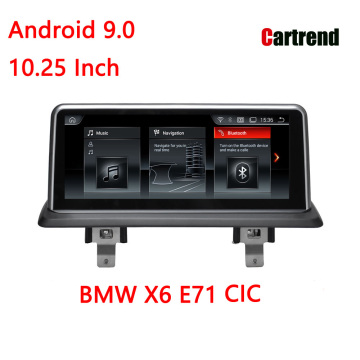 Car GPS Player 10.25 X6 үшін E71