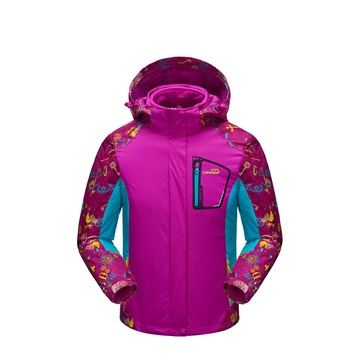 Ms printing sports leisure ski outfit